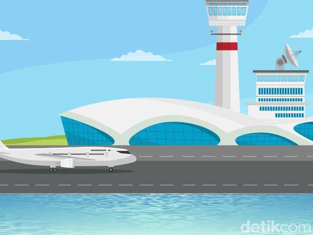 Bandara Kediri Mau Dibangun, Konsepnya Smart and Green Airport