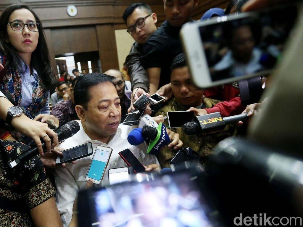 Hakim ke Elza Syarief: Novanto Minta Miryam Cabut BAP Kasus e-KTP?