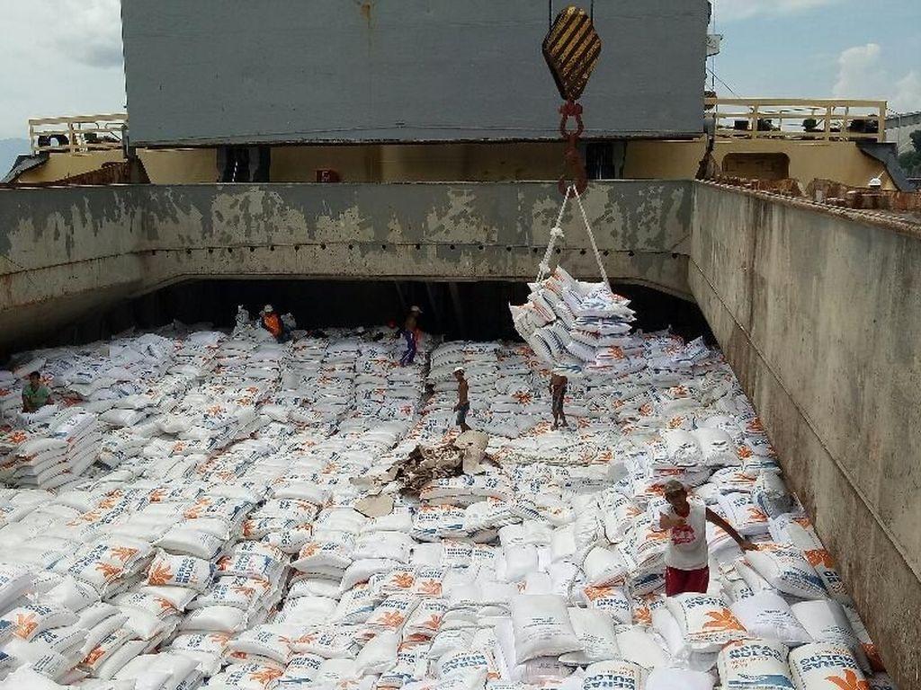 20 Ribu Ton Beras Impor dari India Akan Masuk RI Minggu Ini