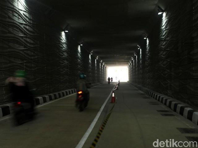 Pengendara Melenggang Mulus di Underpass Kartini