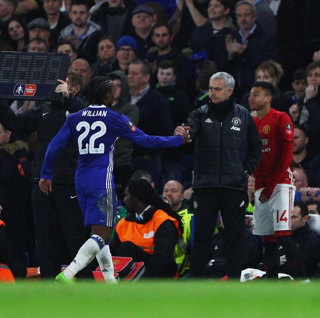 Willian: Mourinho Temanku, tapi...