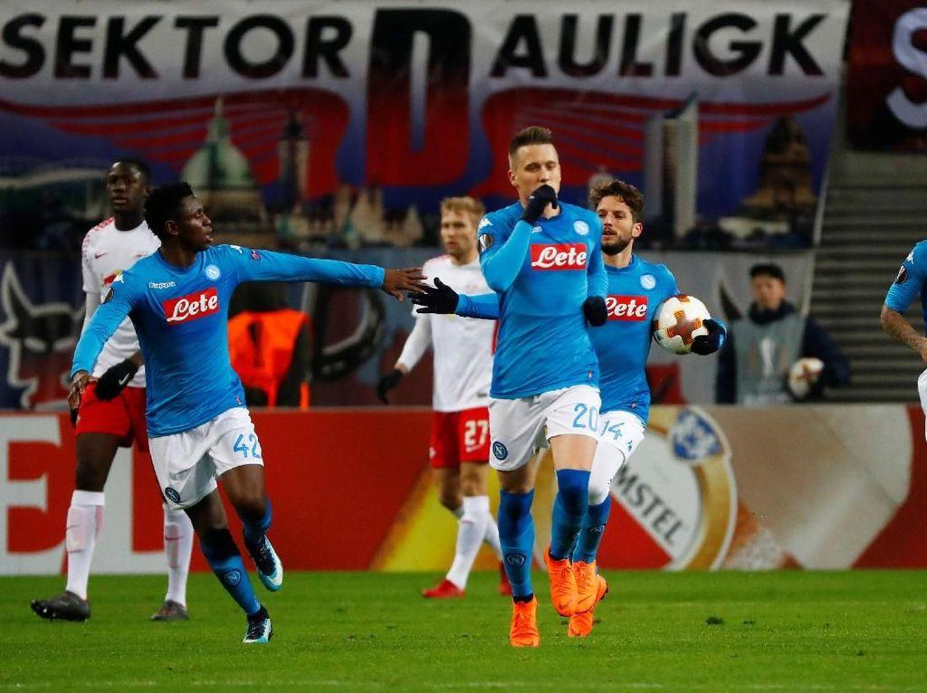 Kandas di Liga Europa, Napoli Kini Fokus Penuh ke Serie A