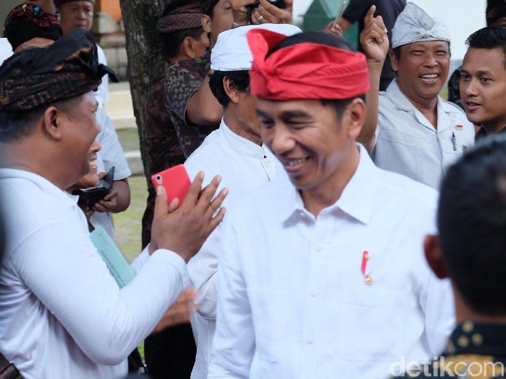Menang Telak di Bali, Ini Janji-janji Jokowi ke Warga Pulau Dewata