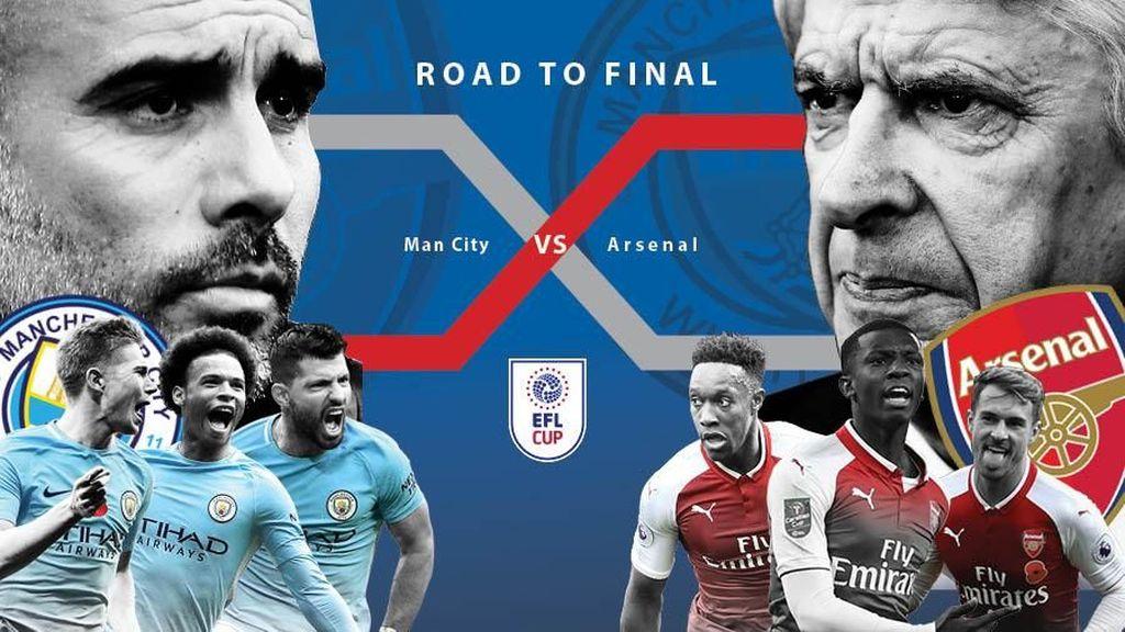 Jalan City dan Arsenal Menuju Wembley