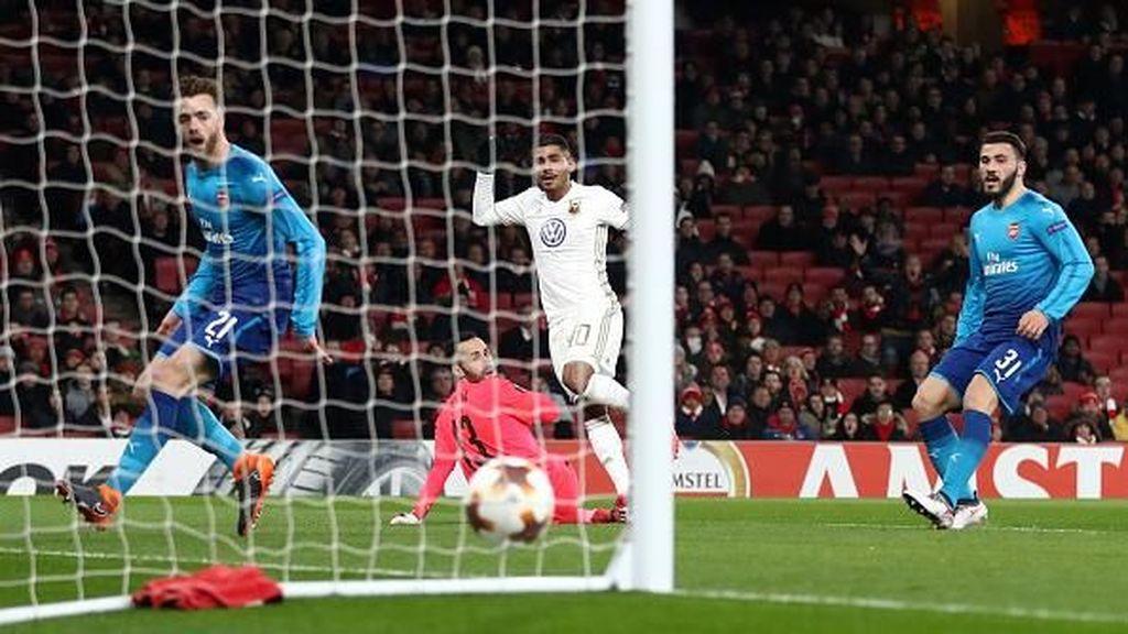 Gol-gol Ostersunds yang Menghukum Arsenal