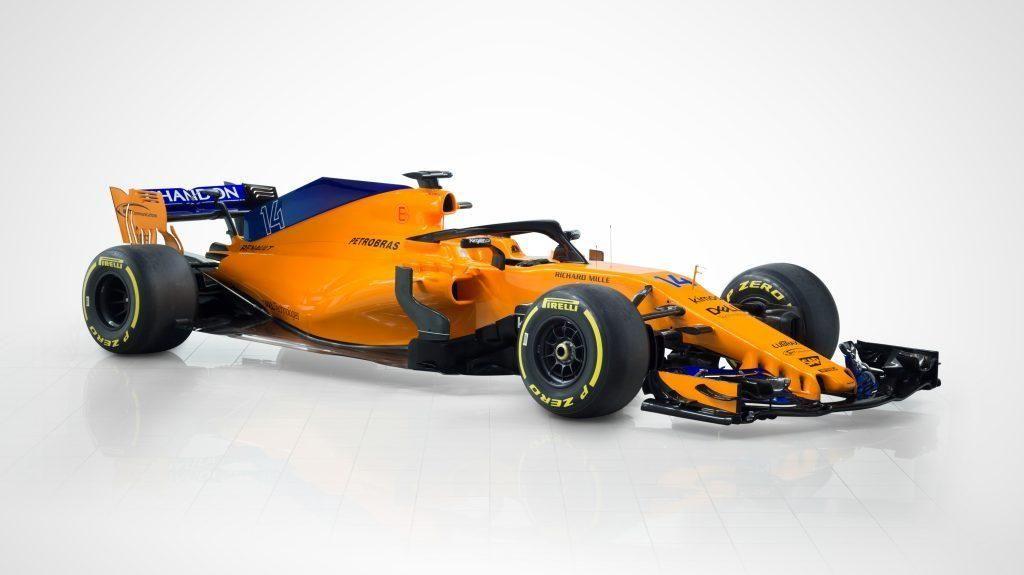 MCL33, Mobil Andalan McLaren di F1 2018