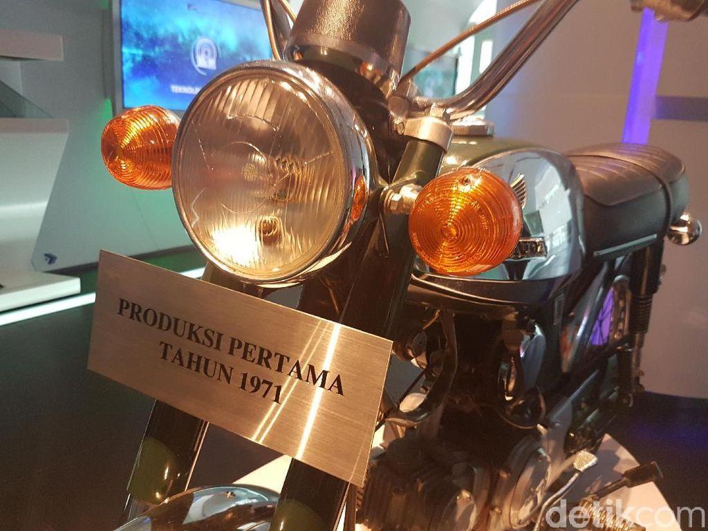 Ini Motor Honda Rakitan Indonesia Pertama, Lihat deh Kilometernya