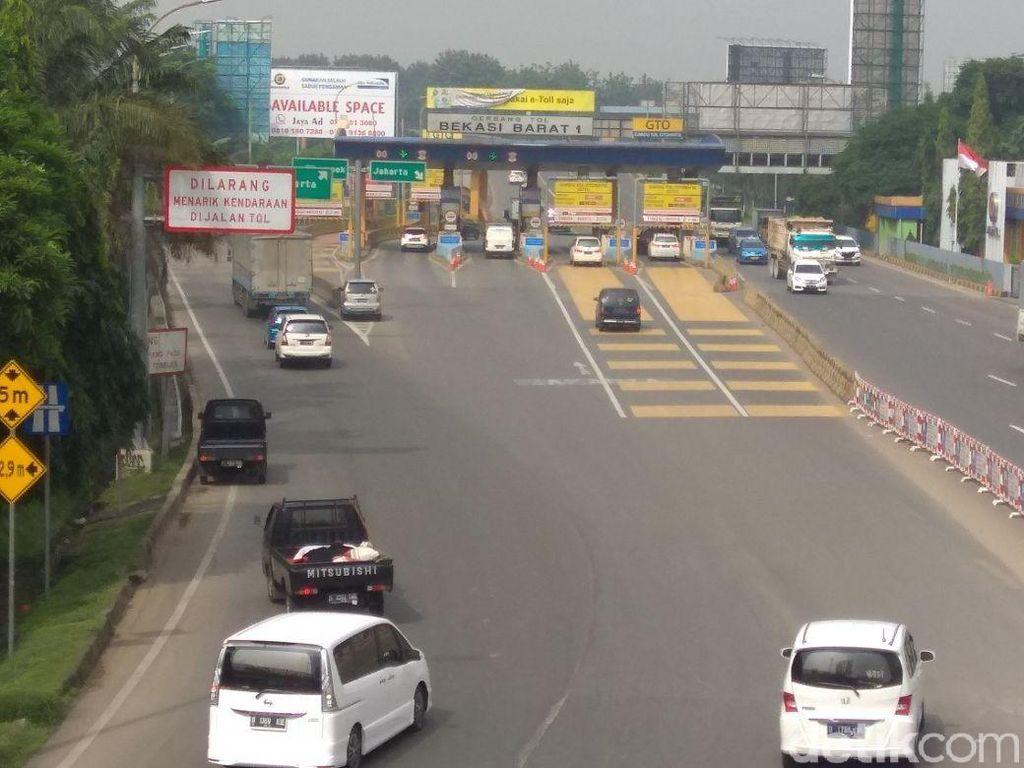 Pantau Ganjil-Genap di Tol Bekasi, Polisi Terjunkan 85 Personel