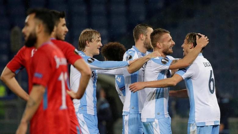 Hat-trick Immobile Antarkan Lazio ke Babak 16 Besar