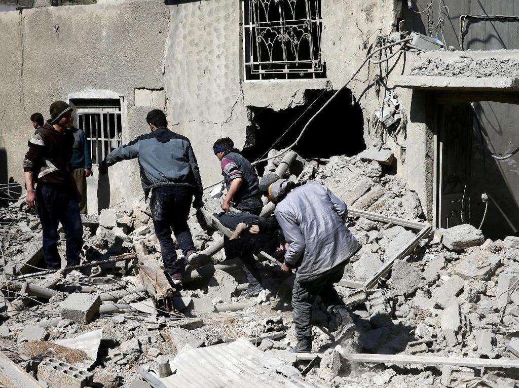 Ada 24 Tewas dalam Hitungan Jam di Ghouta