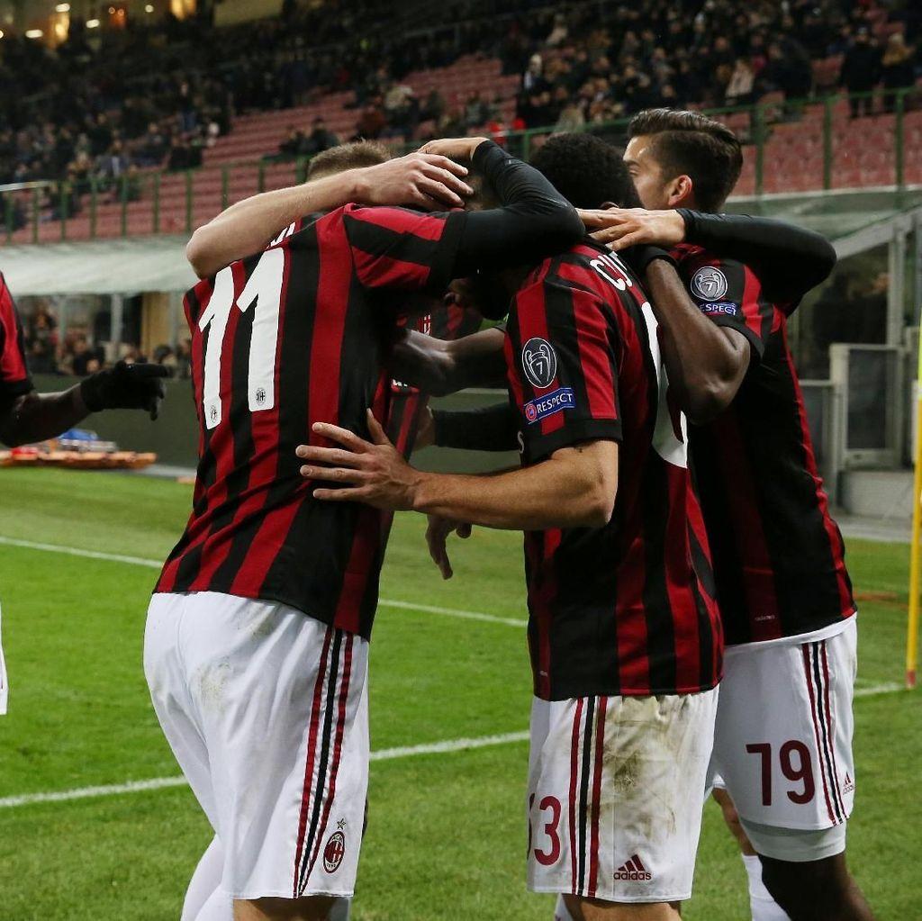 Menang Tipis atas Ludogorets, Milan Maju ke Babak 16 Besar