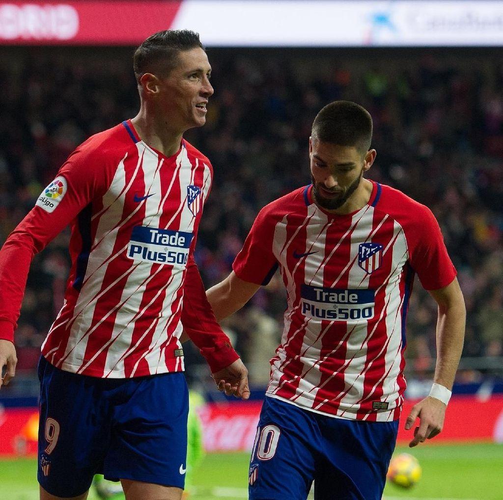 Atletico Siap Lepas Carrasco dan Torres ke Klub China