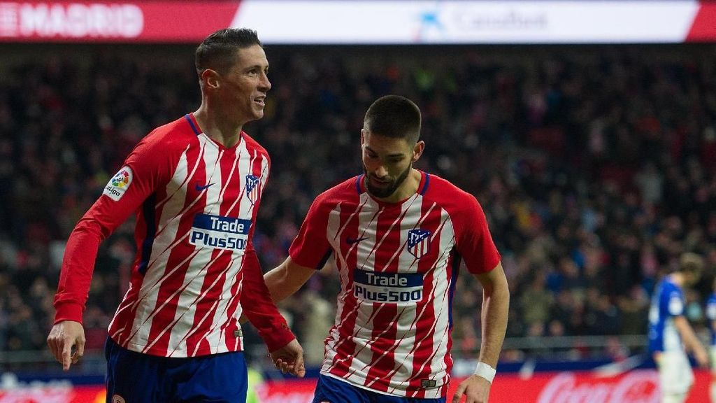 Atletico Siap Lepas Carrasco dan Torres ke Klub China