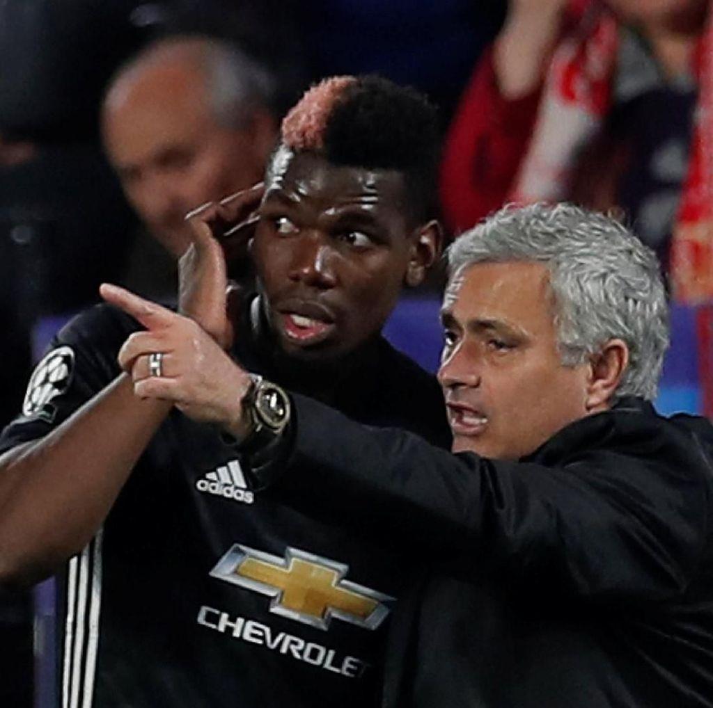 Pogba Akui Sempat Bermasalah dengan Mourinho