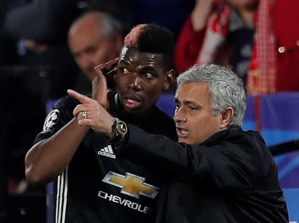 Bahas Hubungan Pogba-Mourinho, Raiola Sebut-sebut Taksi