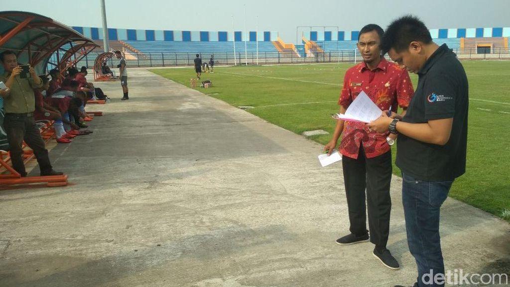 Stadion Surajaya Diverifikasi PT LIB