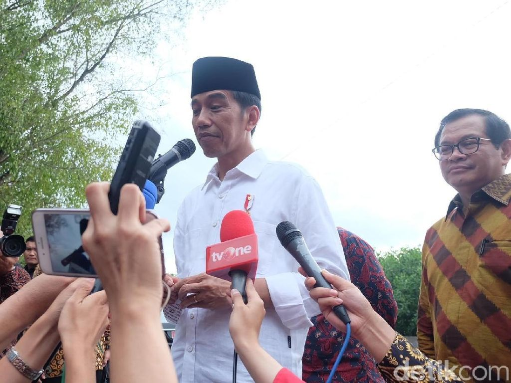 Jokowi: Kriteria Cawapres Dibicarakan Bersama-sama Partai
