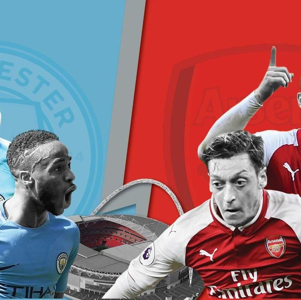 Trofi Pertama di Inggris Musim Ini: Milik City atau Arsenal?