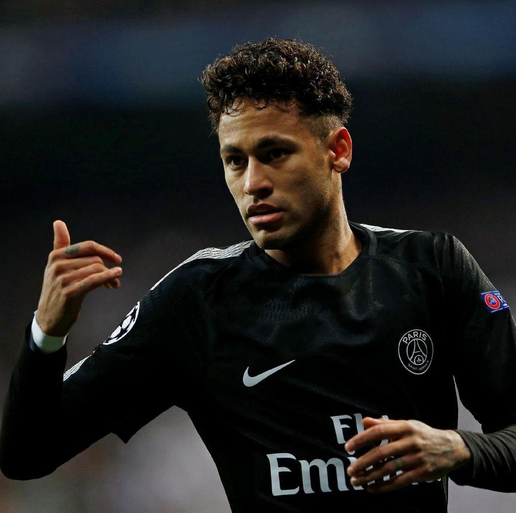 Sakit Perut dan Demam, Neymar Diragukan Tampil di Le Classique
