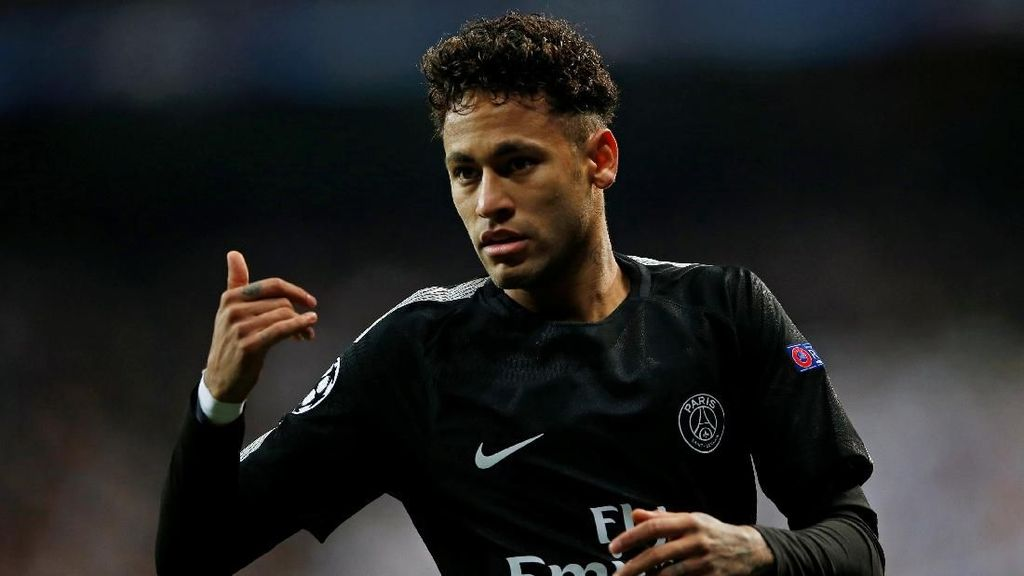 Neymar Telah Kembali Berlatih