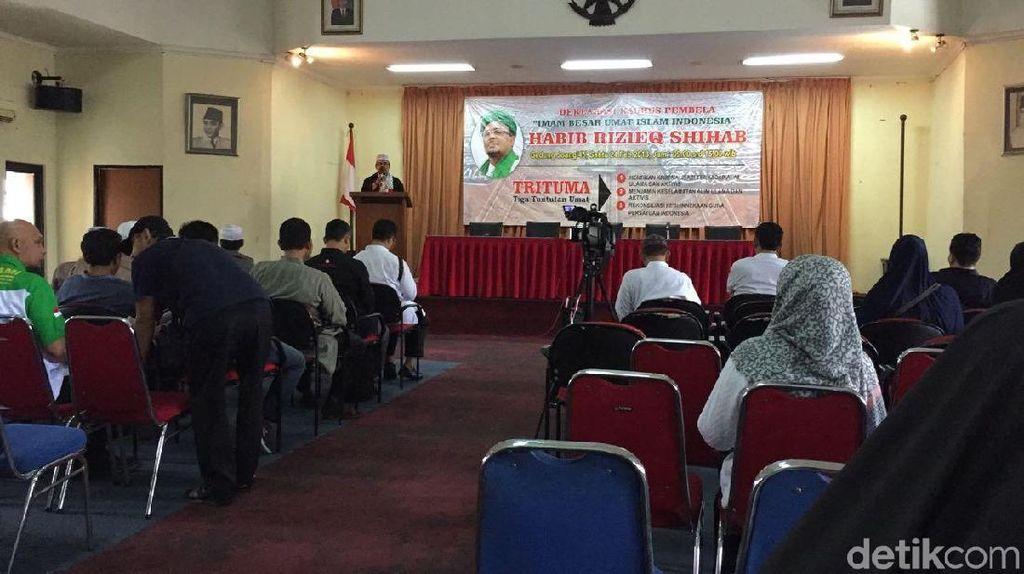 Foto: Deklarasi Kaukus Pembela Imam Besar Indonesia Habib Rizieq