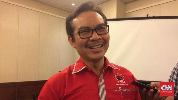 Bupati Kulon Progo Hasto Wardoyo, di Bali, Sabtu (24/2).
