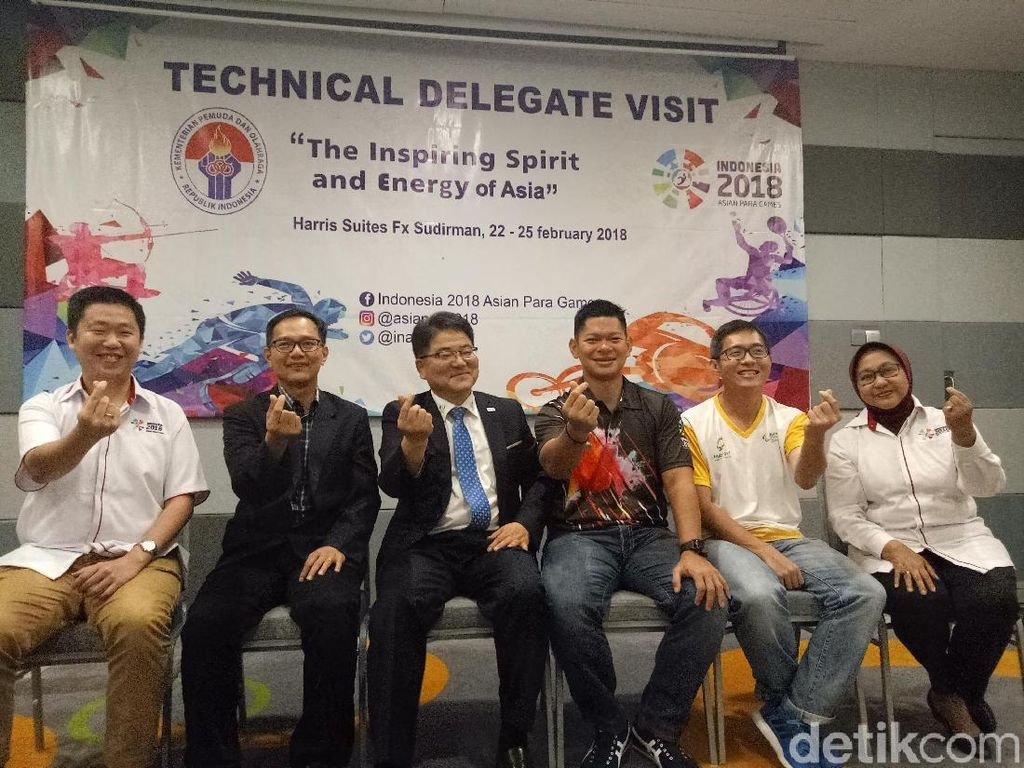 INAPGOC Gelar Technical Delegate Asian Para Games