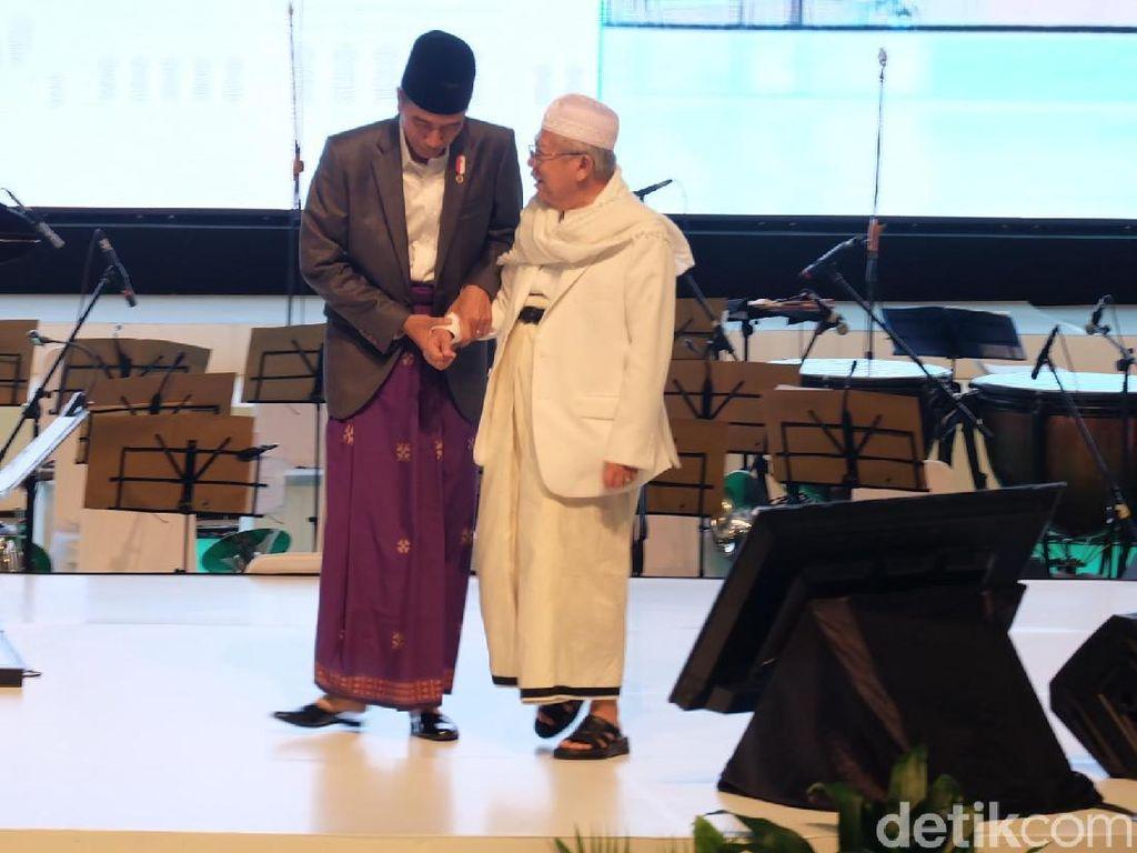 Maruf Amin, Kiai Senior di Antara Cawapres Muda Pendamping Jokowi