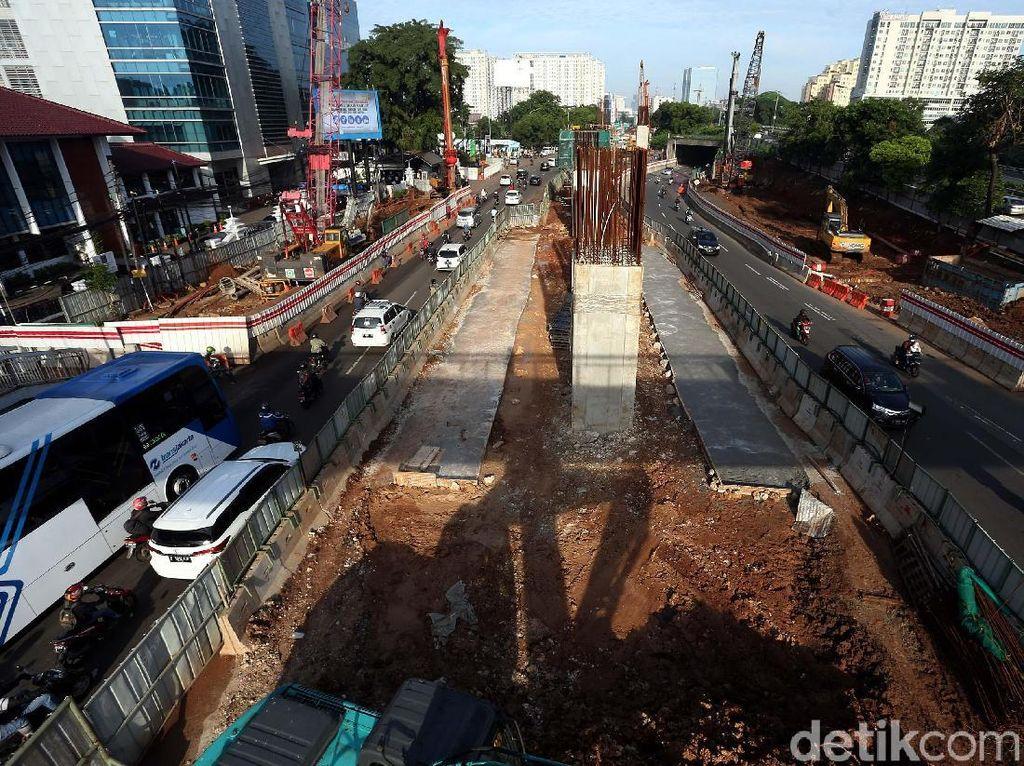 Proyek LRT Sepi Aktivitas