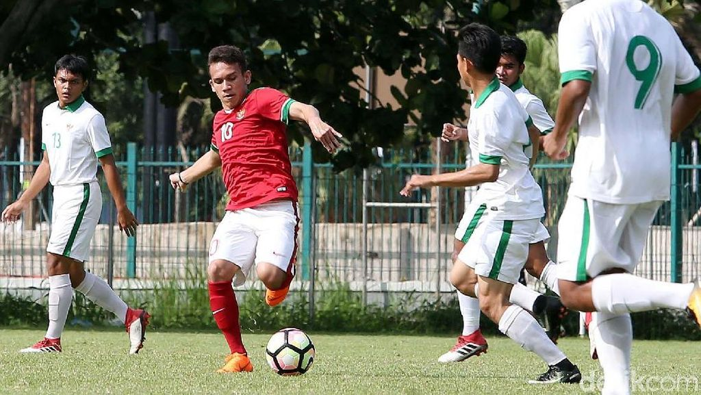 Kala Timnas U23 dan Timnas U-19 Baku Hantam