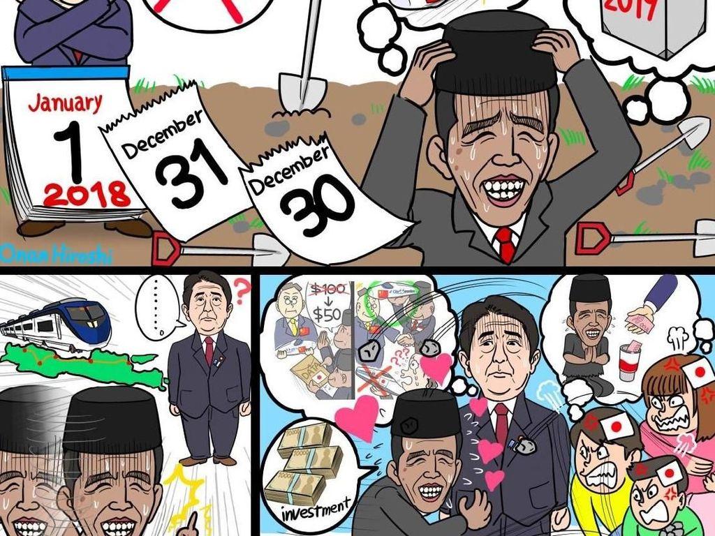 Kereta Cepat JKT-BDG, Disindir Roy Suryo Hingga Komikus Jepang