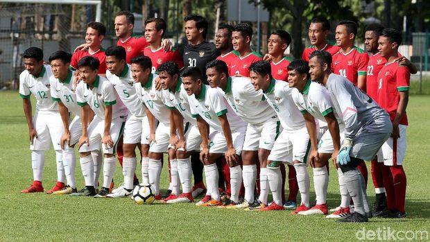 Timnas U-23 Menang atas timnas U-19, Egy Cedera