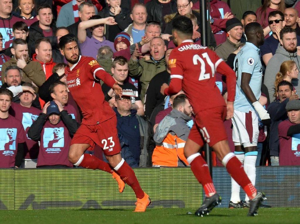 Liverpool Ungguli West Ham 1-0 di Babak Pertama