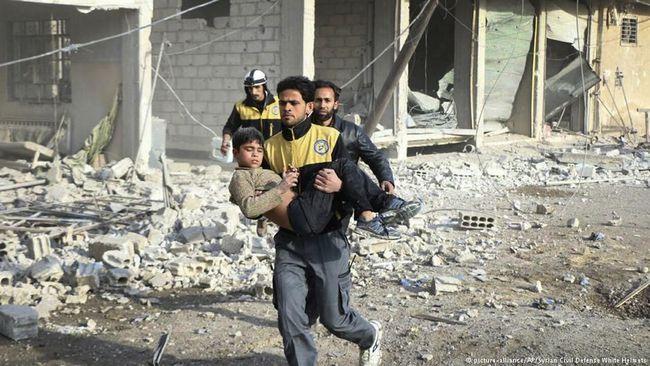 Rusia Tolak Resolusi DK PBB Soal Bencana Kemanusiaan di Suriah