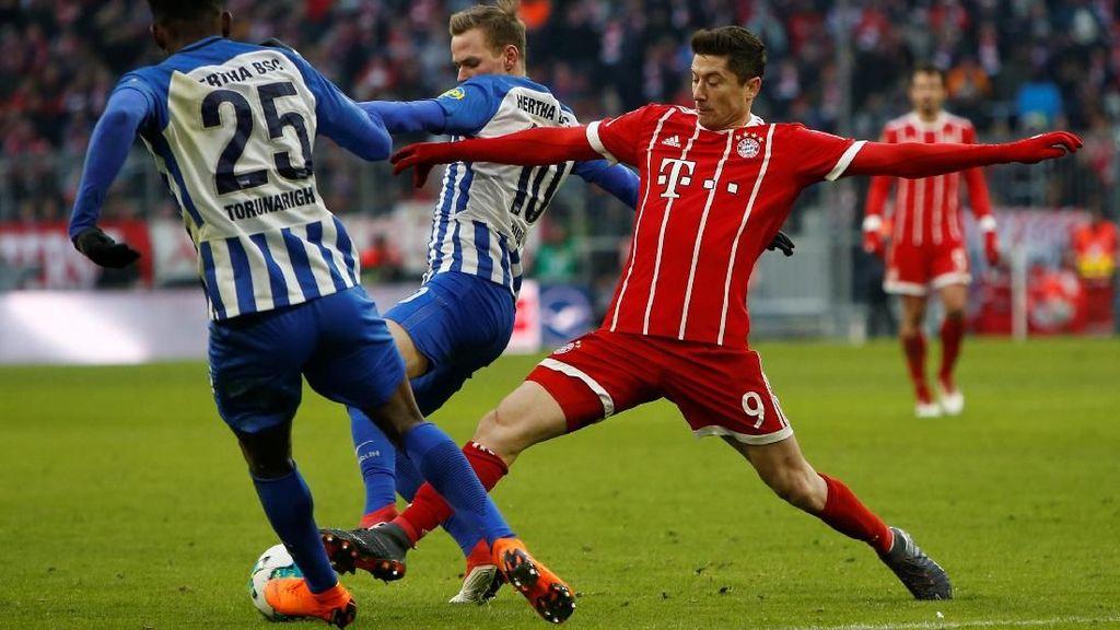 Bayern Ditahan Hertha Berlin Tanpa Gol