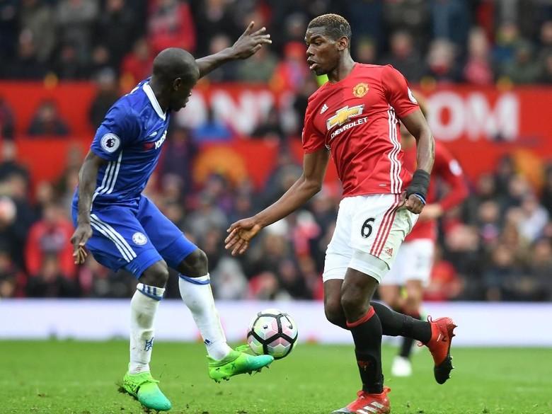 Conte Berharap Mourinho Kembali Cadangkan Pogba
