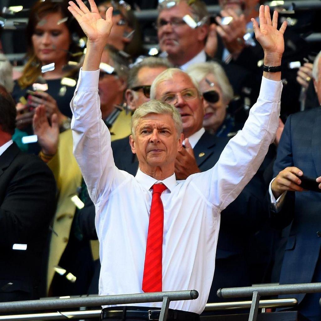 Wenger: Merci, Arsenal!