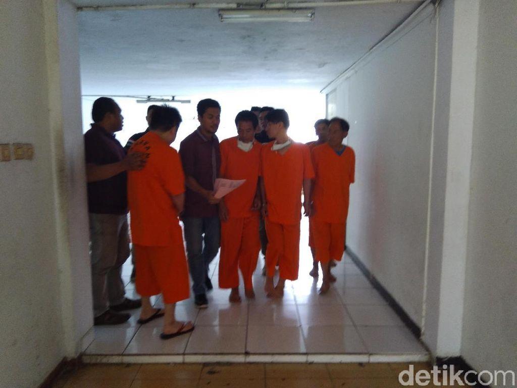 Tiba di Jakarta, 4 Tersangka Sabu 1,6 Ton Jalani Pemeriksaan