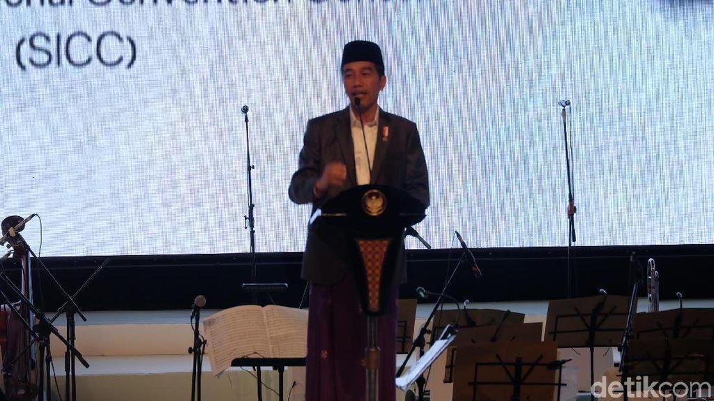 Jokowi: Sebagai Umara, Saya Berkepentingan Mendapat Saran Para Ulama
