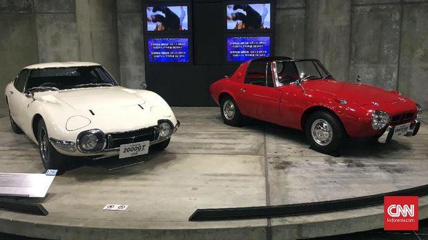 Koleksi di Museum Toyota.