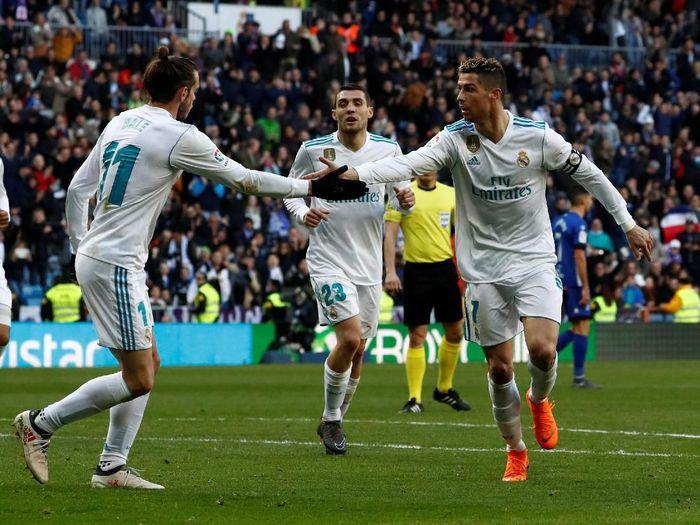 Real Madrid saat mengalahkan Alaves di lanjutan Liga Spanyol. (Foto: Juan Medina/Reuters)