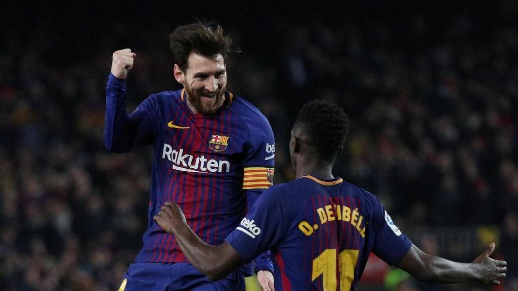Barca Sudah Tak Terkalahkan di 32 Laga Beruntun La Liga