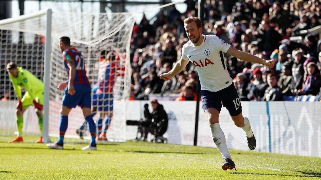 Gol Kane di Menit-Menit Akhir Menangkan Spurs