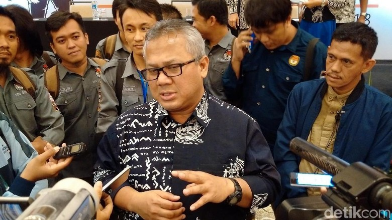 Ketua KPU soal UU Pemilu: Banyak Pasal Tumpang Tindih