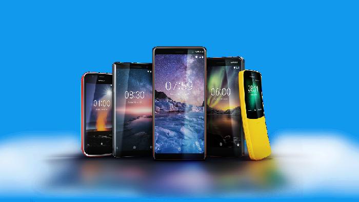 Deretan ponsel anyar Nokia. Foto: istimewa