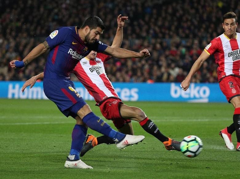 Mana Golmu di Liga Champions, Luis Suarez?