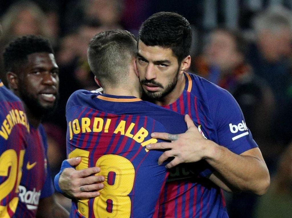 Valverde Komentari Dugaan Alba dan Suarez Sengaja Ingin Dikartu