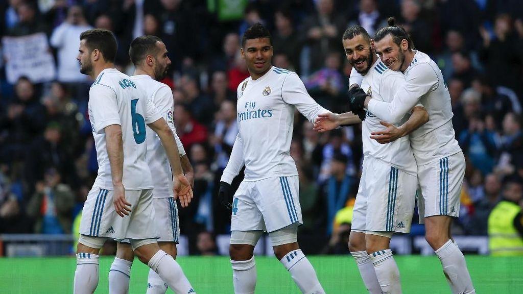 Musim Ini Madrid Sudah Cetak 103 Gol