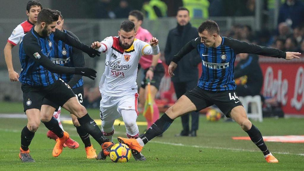 Inter Kalahkan Benevento 2-0