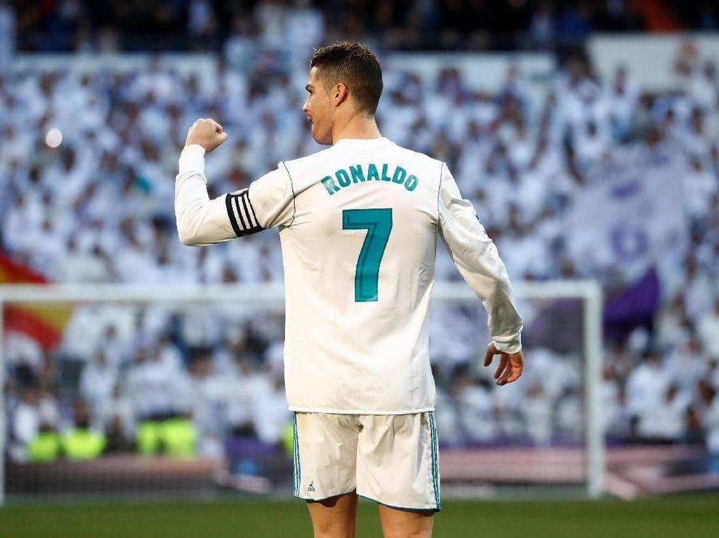 Sudah Pergi 5 Bulan, Ronaldo Masih jadi Topskorer Madrid di 2018